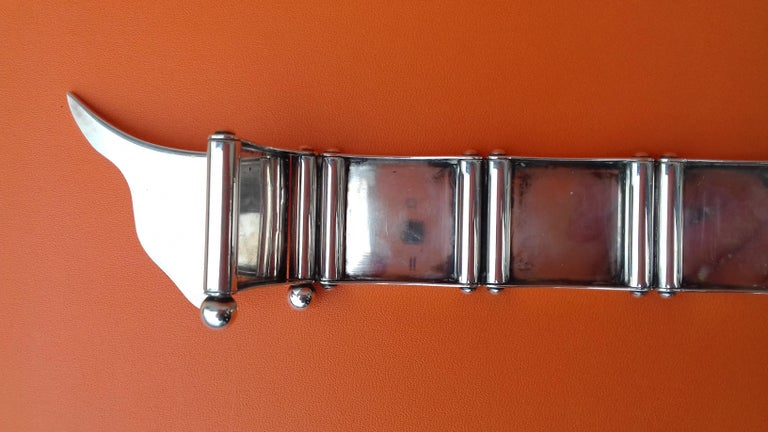 Hermès Silver Plated Dachshund Shaped Photos Frame Holder Vintage RARE 6