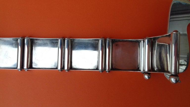 Hermès Silver Plated Dachshund Shaped Photos Frame Holder Vintage RARE 5