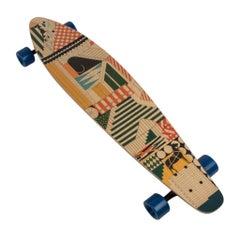 Hermes Skateboard Au Faubourg Longboard Maple Wood Limited Edition New
