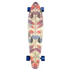 Hermes Skateboard Deck Sangles en zigzag by  Henri d'Origny.