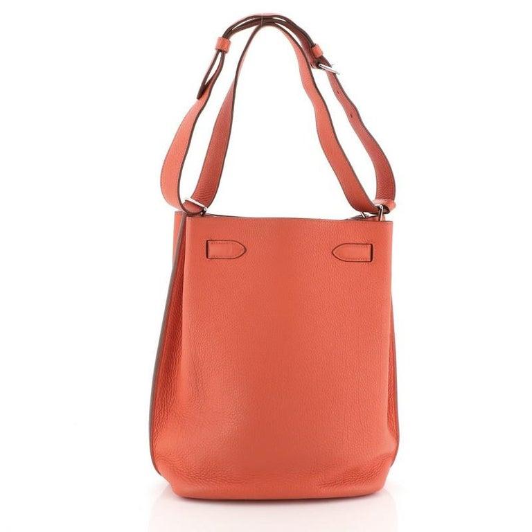 Orange Hermes So Kelly Bag Togo 22 For Sale