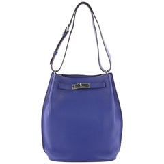 Hermes So Kelly Handbag Togo 22