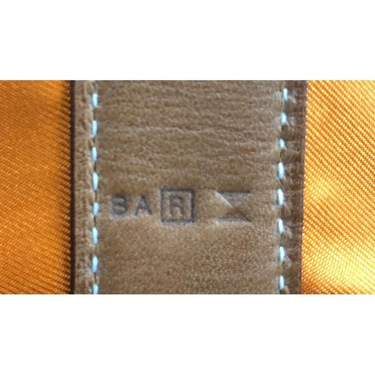 Hermes Soie Cool Handbag Printed Silk and Calfskin Medium For Sale 3