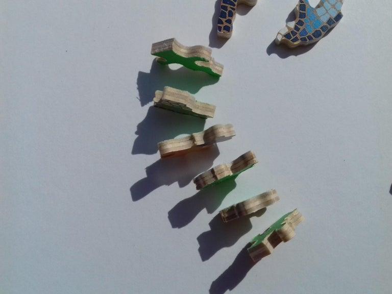 Hermès Sous le Cèdre Dimitri Rybaltchenko Wooden Puzzle  For Sale 9