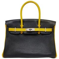 Hermes Special Order Bi-Colour 30cm Birkin Bag