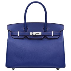 Hermès Special Order Bi-colour Epsom 30cm Birkin Bag