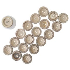 Hermes Sport Buttons Vintage old stock