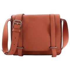 Hermes Steve Caporal Handbag Clemence