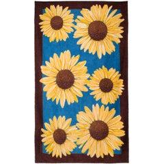 Hermes Sunflowers Cotton Beach Towel