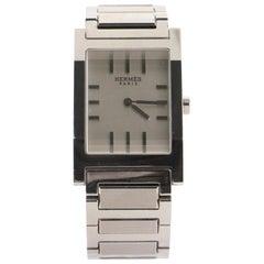Hermès Tandem Quartz Watch Stainless Steel 26