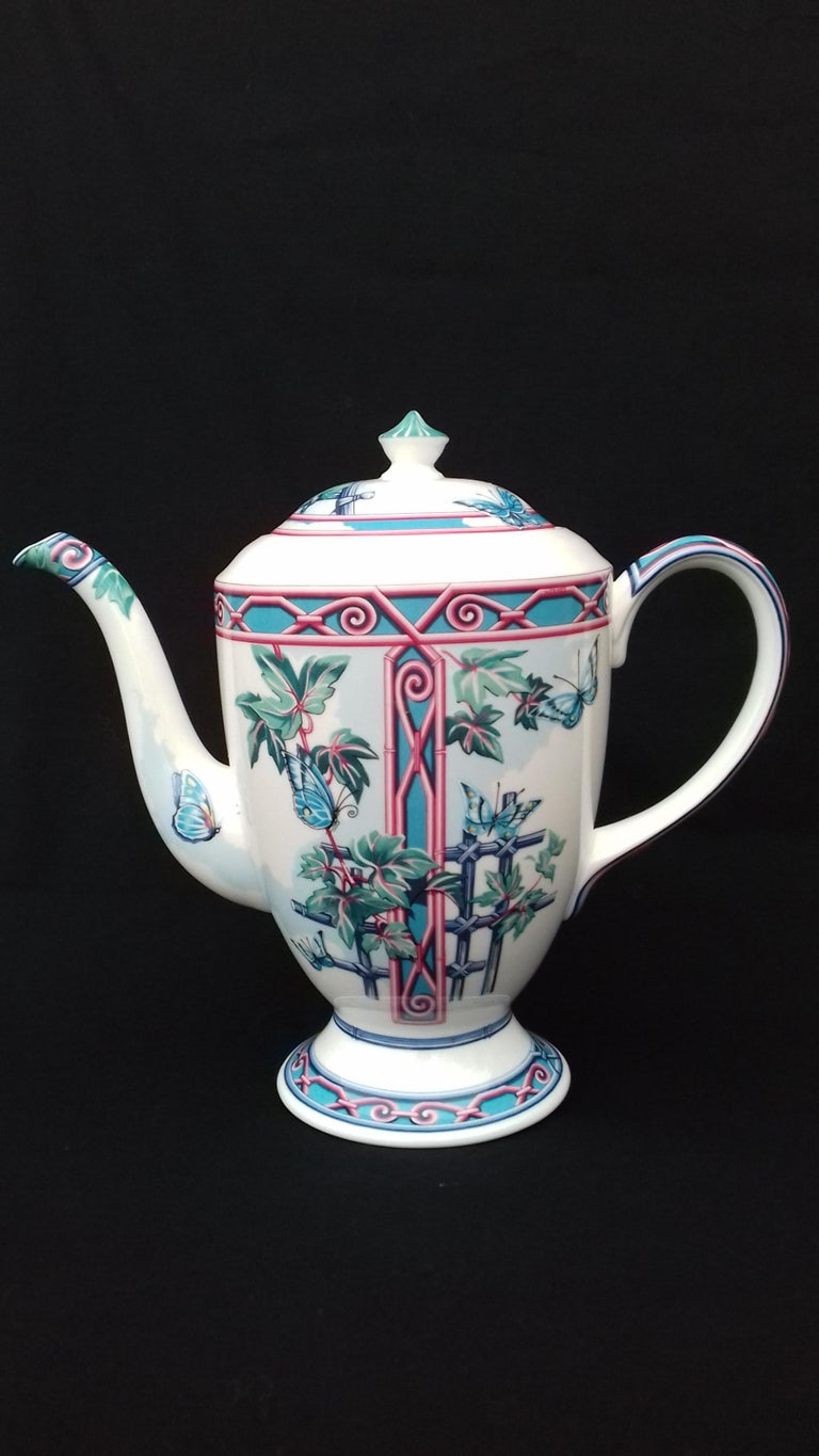 RARE and Beautiful Authentic Hermès Teapot  Pattern: