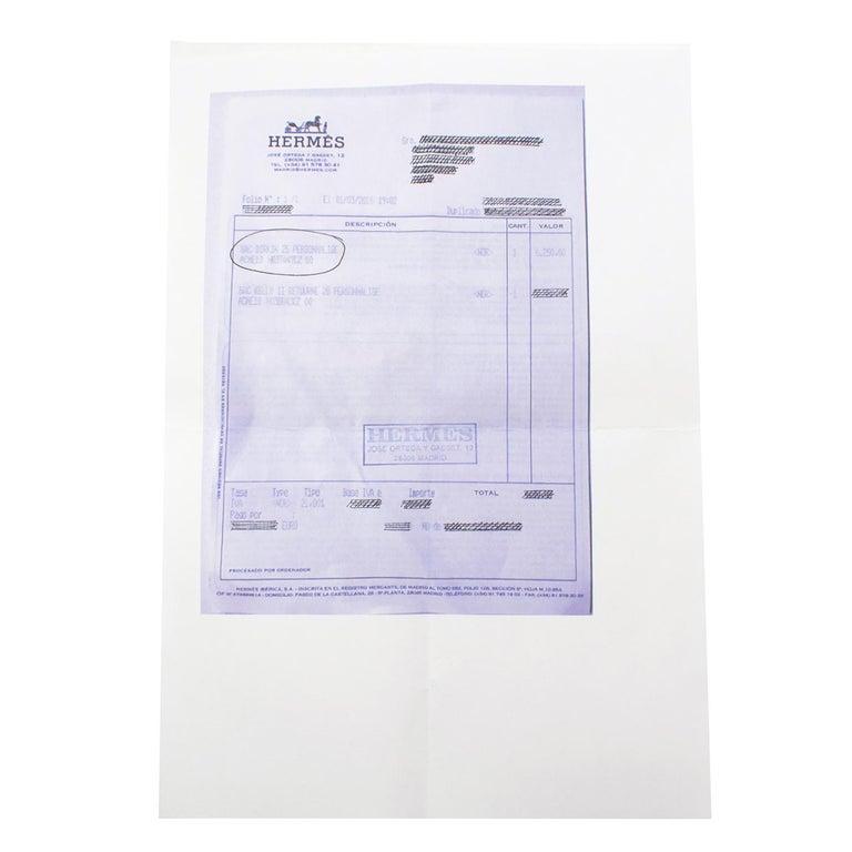 Hermes Thalassa Togo Leather 25cm Birkin Bag - Special Order For Sale 5