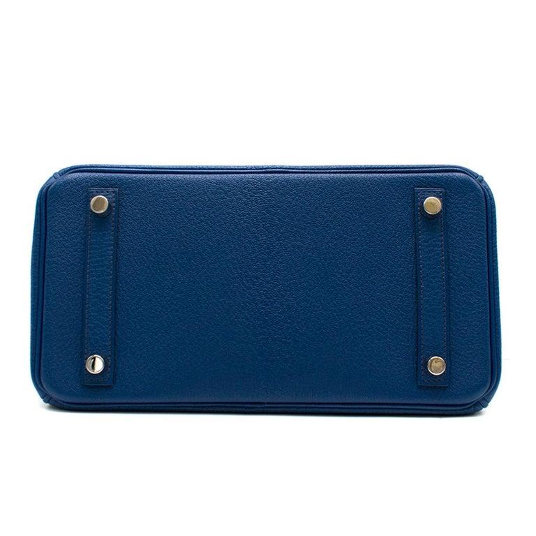Women's Hermes Thalassa Togo Leather 25cm Birkin Bag - Special Order For Sale