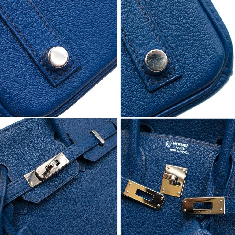 Hermes Thalassa Togo Leather 25cm Birkin Bag - Special Order For Sale 1