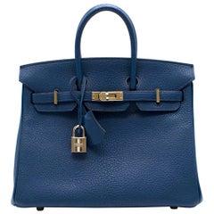 Hermes Thalassa Togo Leather 25cm Birkin Bag - Special Order