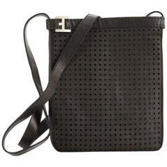 Hermes Todo Messenger Bag Perforated Leather Mini