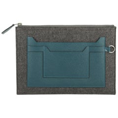 Hermes Toodoo Pouch Epsom and Wool 29