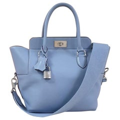 Hermes Toolbox 26 Leather Handbag