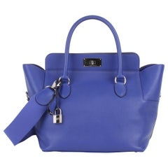 Hermes Toolbox 26 Swift Leather Electric Blue
