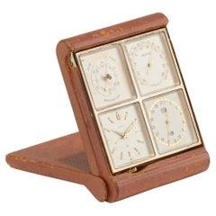 Hermès Travel Barometer, Thermometer and Clocks