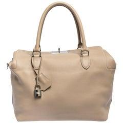 Hermes Trench Swift Leather Palladium Hardware Toolbox 33 Bag