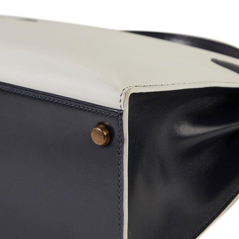 Hermès Tri-Colour Sellier 32cm Kelly Bag For Sale 5