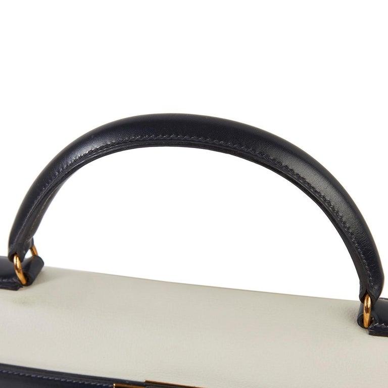 Hermès Tri-Colour Sellier 32cm Kelly Bag For Sale 6