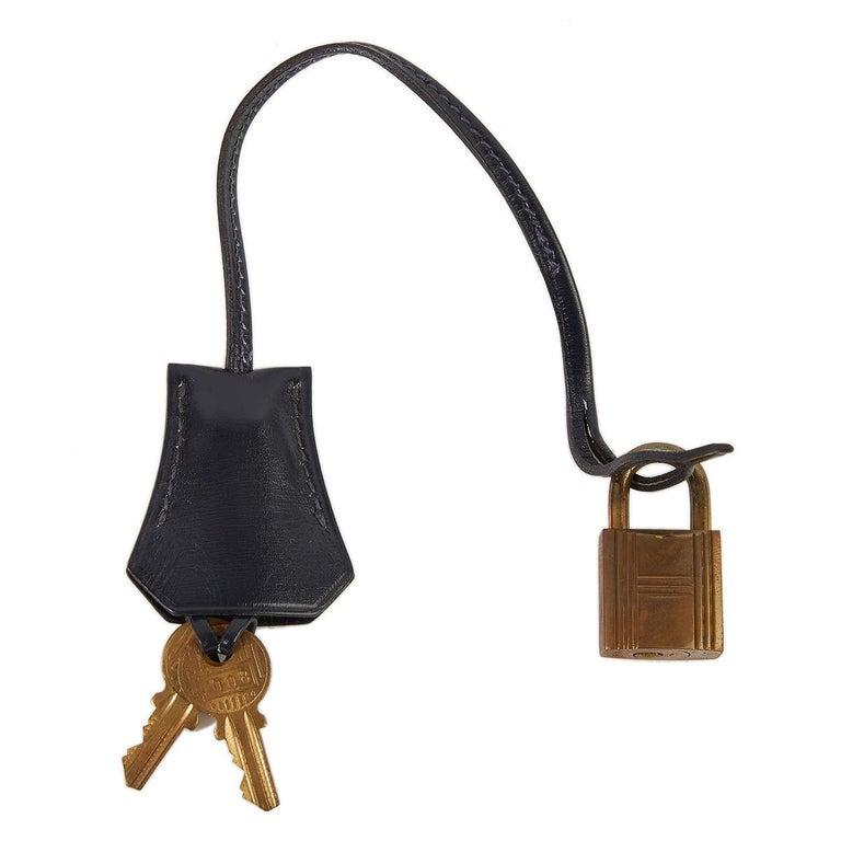 Hermès Tri-Colour Sellier 32cm Kelly Bag For Sale 11