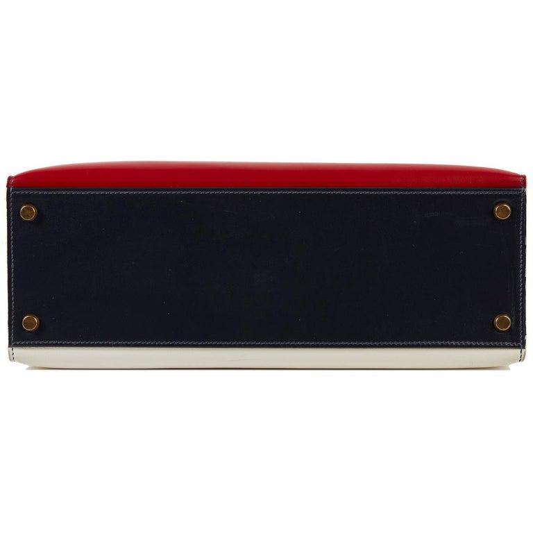 Hermès Tri-Colour Sellier 32cm Kelly Bag For Sale 1
