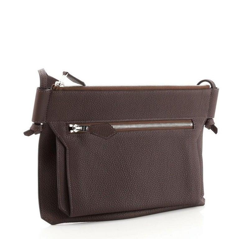 Black Hermes Ultrapla Bag Togo PM For Sale