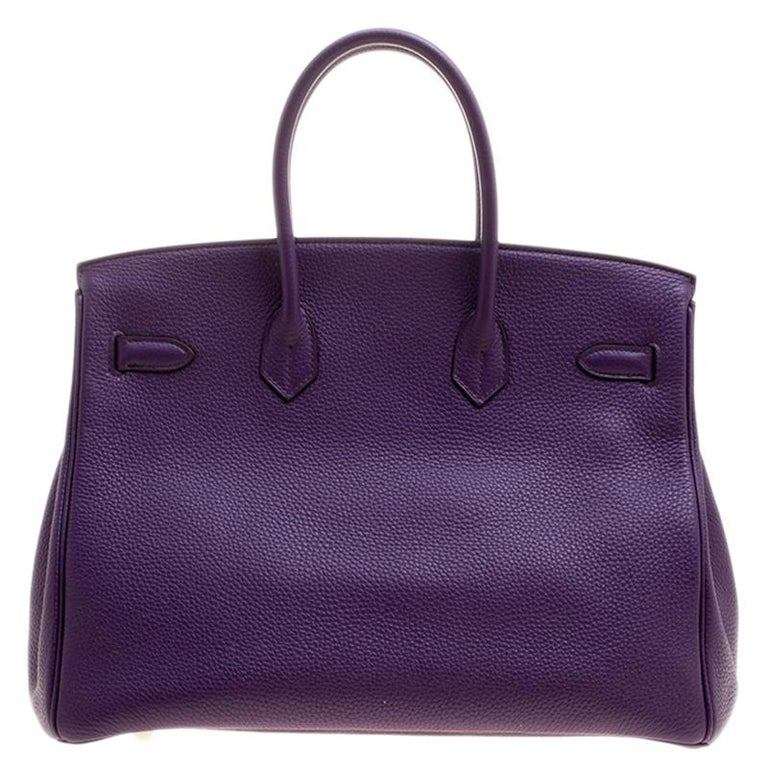 Hermes is known for its flawless craftsmanship and high quality. The Hermes Birkin was inspired by Jane Birkin and is one of the most desired handbags in the world. A timeless classic that never goes out of style. Handcrafted from the highest