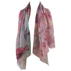 Hermès Under the Waves Silk Scarf , shawl