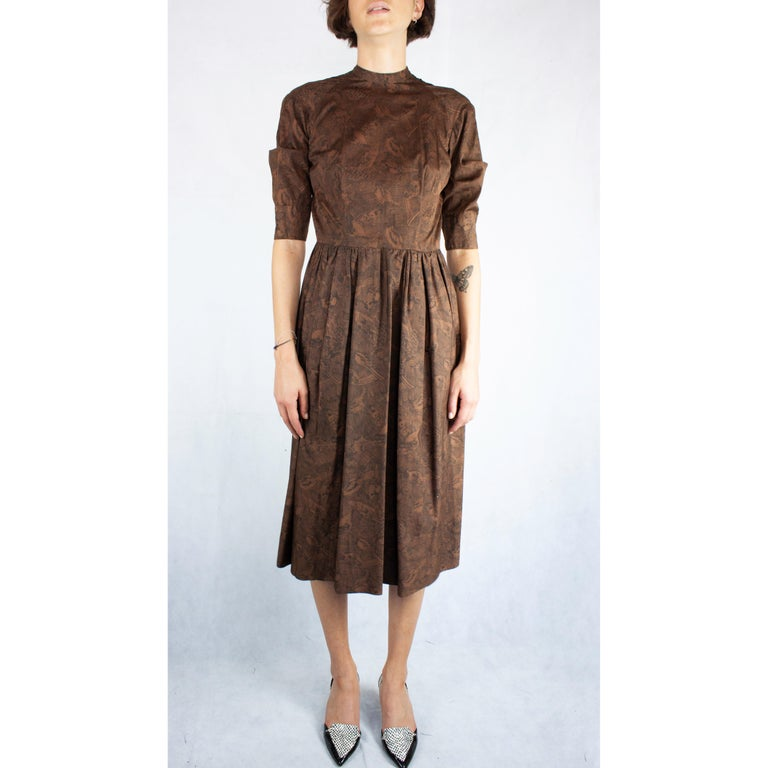 Heritage and tradition are key words in fashion to describe Hermès. Like many of the world's most prestigious luxury , such as Gucci and Vuitton, Hermès  have a long history going back more than a century.  This dress is a piece that certainly