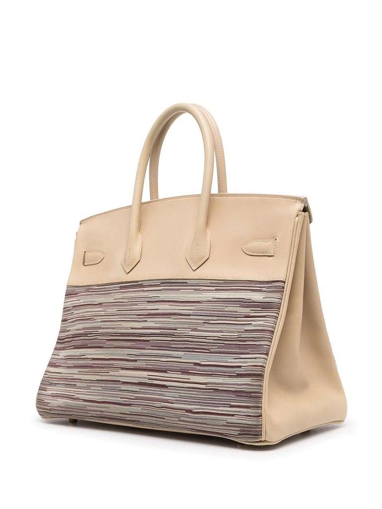 Hermès Vibrato Birkin 35 In Excellent Condition For Sale In London, GB