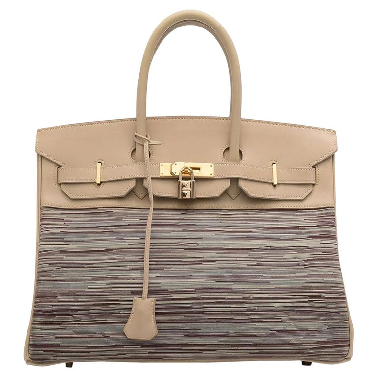Hermès Vibrato Birkin 35 For Sale