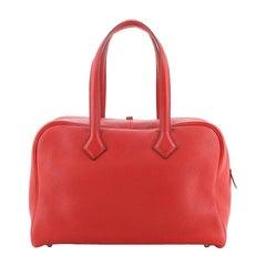 Hermes Victoria II Bag Clemence 35