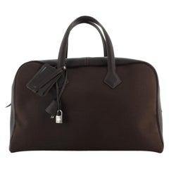 Hermes Victoria II Bag Toile 43