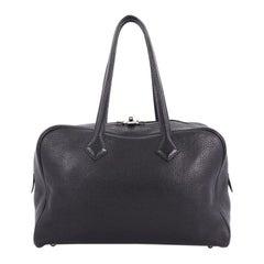 Hermes Victoria II Handbag Clemence 35