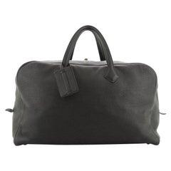 Hermes Victoria II Travel Bag Clemence 50