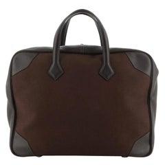 Hermes Victoria II Travel Bag Toile 43