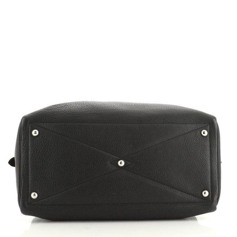 Women's or Men's Hermes Victoria II Travel Handbag Clemence 43  For Sale