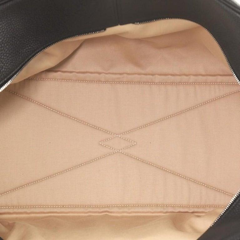 Hermes Victoria II Travel Handbag Clemence 43  For Sale 1