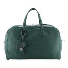 Hermes Victoria Travel Bag Clemence 43