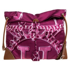 Hermes VIF Pink Satin and Leather MM Silky City Bag