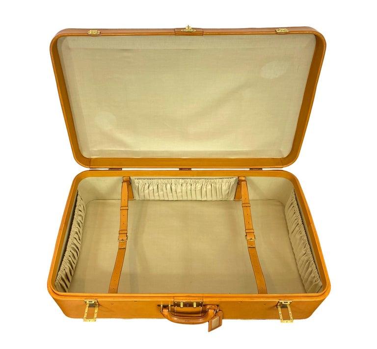 Hermès Vintage Automobile Valise Suitcase Travel Luggage, circa 1972. For Sale 4
