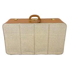 Hermès Vintage Automobile Valise Suitcase Travel Luggage, circa 1972.