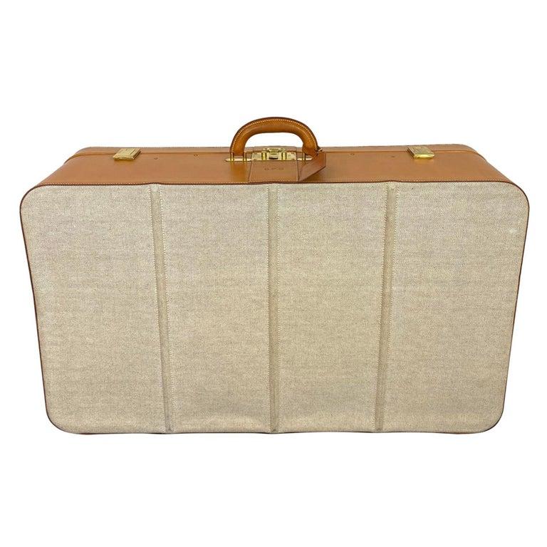 Hermès Vintage Automobile Valise Suitcase Travel Luggage, circa 1972. For Sale