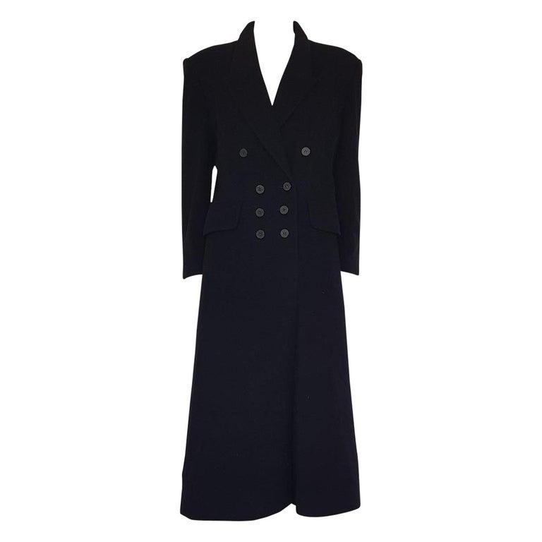 Hermès Vintage Cashmere Coat FR42 IT46 For Sale