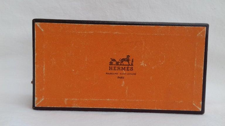 Hermès Vintage Duck Pattern Enamel Printed Napkin Rings Holders SUPER RARE For Sale 5