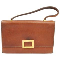 Hermes Vintage Grained Leather Handbag